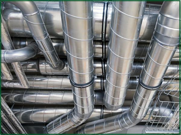 Hệ thống ống thông gió là hệ thống có nhiệm vụ trao đổi không khí