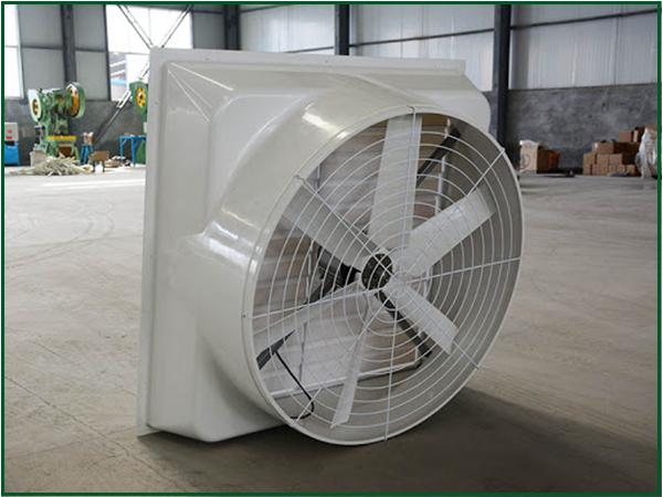 Ứng dụng quạt công nghiệp composite